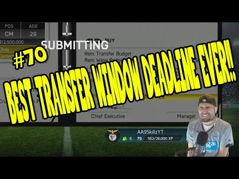 Ever - BEST TRANSFER WINDOW DEADLINE EVER!! FIFA 14 Career Mode #70 Like the video if you enjoyed! Thanks! ○FIFA 14 ULTIMATE TEAM COINS - http://www.futcoinking.com ○5% off code: AA9 Career Mode...