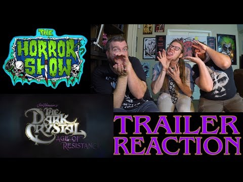 """""""The Dark Crystal: Age of Resistance"""" 2017 Netflix Teaser Reaction - The Horror Show"""
