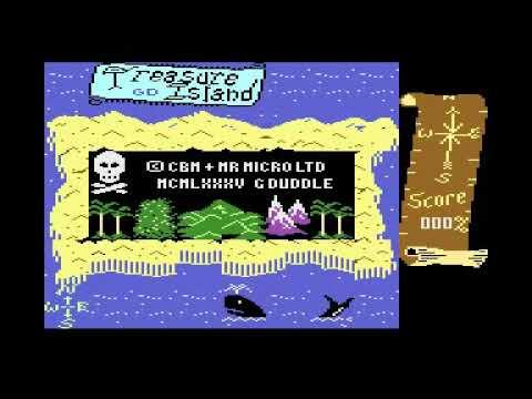 Commodore Plus/4 - Treasure Island