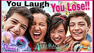 Video Try Not To Laugh Watching DISNEY ANDI MACK Funniest Musical.lys 2018 | Disney Challenge! MP3, 3GP, MP4, WEBM, AVI, FLV Mei 2018