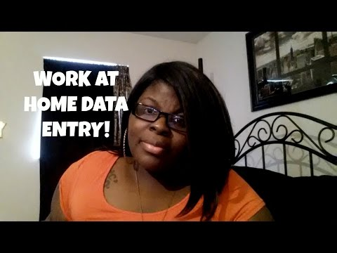 Legit Work at Home Data Entry Job