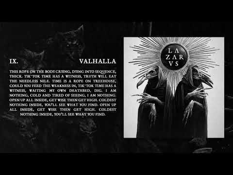 LAZARVS - VALHALLA (Official Audio)