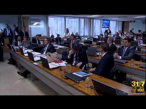 Magno Malta DETONA Cardozo! na Comissão do Impeachment-MOVIMENTOS UNIDOS EM MAIS UMA GRANDE MANIFES
