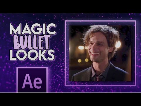 how to use magic bullet looks in after effects | making your own colorings