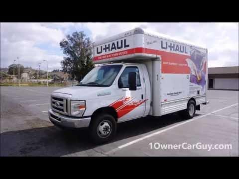 Renting & Inspecting U Haul Video 15' Box Truck Rent Review