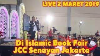 Video LVE UAS HARI INI 2 MARET 2019! Ustadz Abdul Somad di Islamic Book Fair JCC Senayan Jakarta MP3, 3GP, MP4, WEBM, AVI, FLV Maret 2019