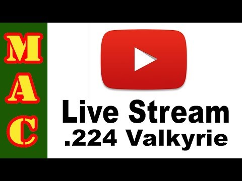 MAC and 22 Plinkster talk about the .224 Valkyrie