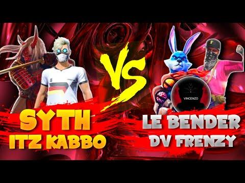 Vincenzo Squad Mate Vs Itz Kabbo & Syth  || Free Fire 2 vs 2 Clash Squad