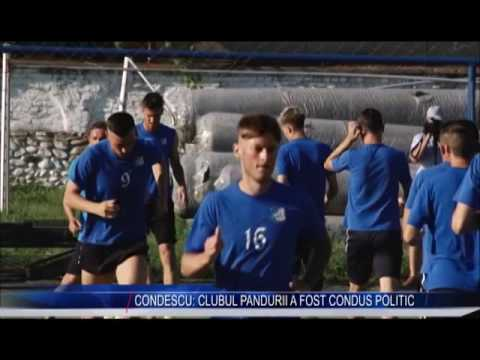CONDESCU: CLUBUL PANDURII  A FOST CONDUS POLITIC