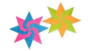 Модульная оригами Звезда из бумаги