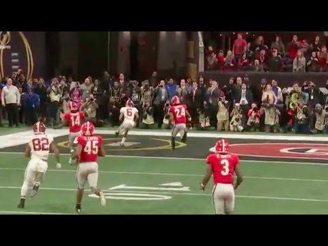 Film Study: Alabama vs Georgia   CFP National Title Game