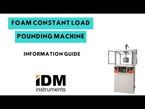 Foam Constant Load Pounding Machine | Model F0021