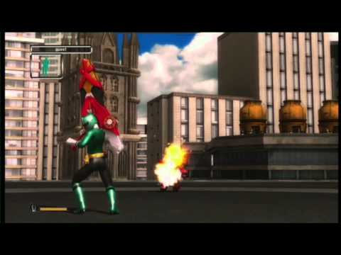 Kinect - In the new Power rangers game, you punch the air and/or your friends. See more http://www.collegehumor.com LIKE us on: http://www.facebook.com/collegehumor F...