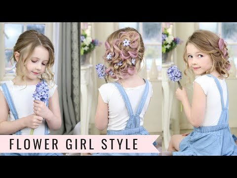 Braid hairstyles - Cute Flower Girl Hairstyle by SweetHearts Hair Design