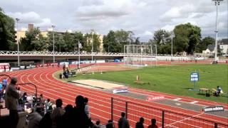 Dreux France  city photo : Championnats de France Cadets-Juniors Athlétisme DREUX 28 - 4 x 100m Finale Juniors M