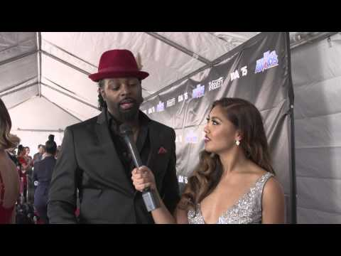DAVE SCOTT & KEENAN KAMPA on the Industry Dance Awards Red Carpet