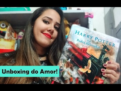 VEDA #03 - UNBOXING HARRY POTTER ILUSTRADO
