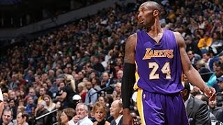 Kobe Bryant's Career Milestones