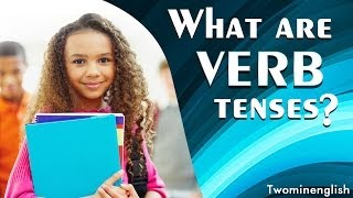 "Verb tenses explain the time of an incident's occurrence. They locate the time of an action in the past, the present, or the future, and the most commonly used verb tenses are called present tense, past tense and future tense. It's important to use the correct tense to make clear what you're trying to say. It could make the difference between getting a ride to school and having to walk! Even many native English speakers get confused about verb tenses. With examples of verb tenses and sample conversations, this lesson will help you identify and use tenses correctly. If you find this lesson useful, please click ""like"" on the YouTube video and subscribe to our channel for more lessons.Don't forget to stay updated via Facebook: http://facebook.com/twominenglishPlease visit our website for more lessons, articles and exercises : http://twominenglish.comGo mobile and download our Android phone App : https://play.google.com/store/apps/details?id=com.astrobix.twominuteenglish"