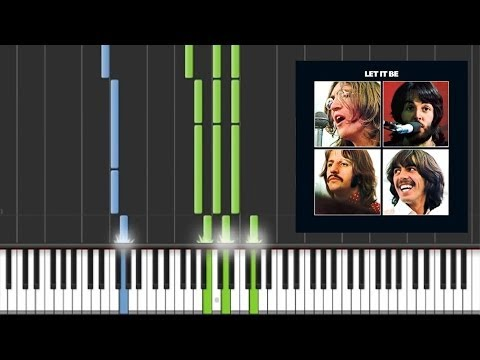 Let It Be - The Beatles [Piano Tutorial]