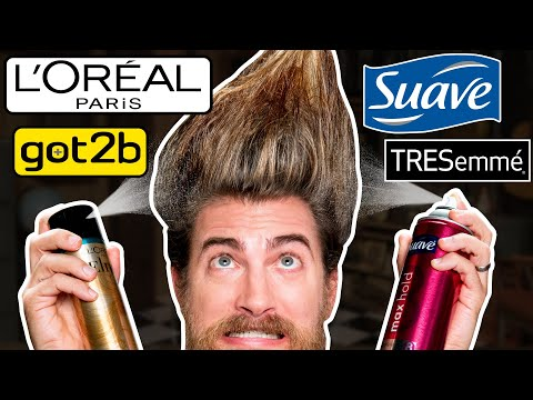 What's The Strongest Hairspray? (TEST)