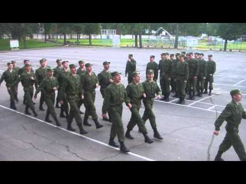 Soldiers Sing Barbie Girl While Marching