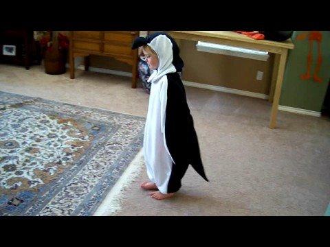 Penguin costume!