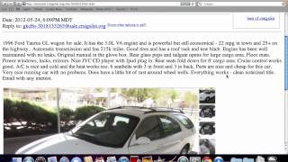 Craigslist Prescott Arizona - Used Cars and Trucks Under $4000 Available in 2012