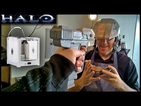 Check out my fully 3D printed Halo...