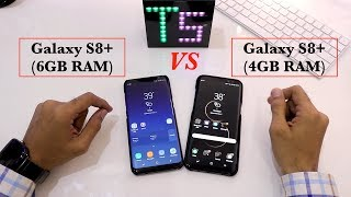 This video shows the speed test between the 2 current flagships......S8+-6GB VARIANT AND S8+ 4 GB VARIANT