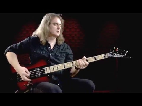 Megadeth's David Ellefson on his X Series Signature Kelly Bird IV Bass