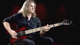 Megadeth's David Ellefson on His Signature Kelly Bird Bass