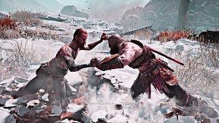"Video God of War - Kratos Fighting ""The Stranger"" MP3, 3GP, MP4, WEBM, AVI, FLV Agustus 2019"