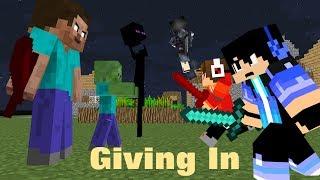 Video Giving In - (Heroes Series Minecraft Music Video #7) - Season 1 MP3, 3GP, MP4, WEBM, AVI, FLV Februari 2019