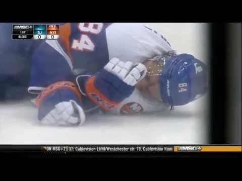 Scott - Massive clean hit on Grabovski.