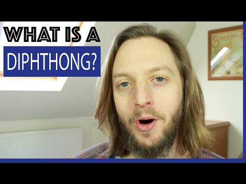 What is a diphthong