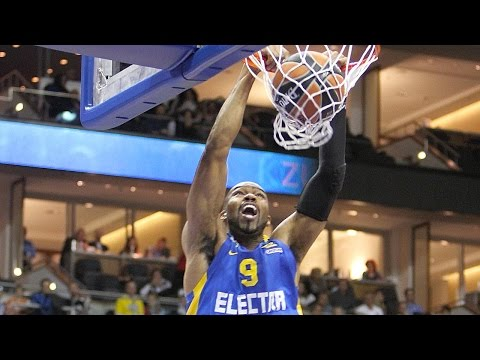 Dunk of the Night: Alex Tyus, Maccabi Electra Tel Aviv