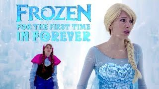 Video For the First Time in Forever Reprise - in Real Life | Disney Frozen | #frozen MP3, 3GP, MP4, WEBM, AVI, FLV Januari 2018