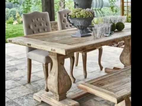 Comedores de madera videos videos relacionados con - Muebles rusticos modernos madera ...