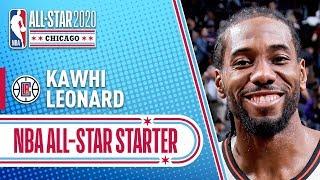 Kawhi Leonard 2020 All-Star Starter | 2019-20 NBA Season by NBA