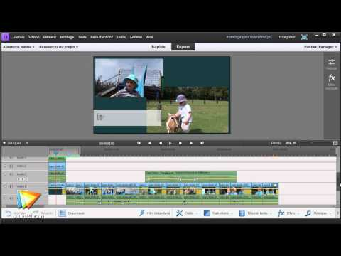 Watch 'video2brain - Atelier pratique avec Premiere Elements 11 : Montage en mode Expert'