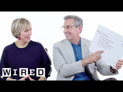 Steve Carell and Kristen Wiig Answer the Internet s Most Searched Questions About