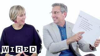 Steve Carell & Kristen Wiig Answer the Web's Most Searched Questions | WIRED