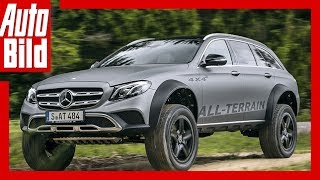 Mercedes E-Klasse All-Terrain 4x4² (2017) - Aufgebockter All-Terrain /Review/Test/Details by Auto Bild
