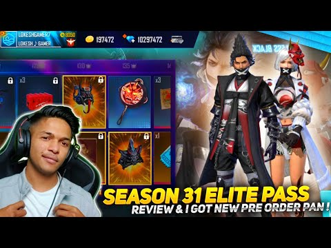 New Season 31 Elite Pass Review & New BackPack Skin & New Gun Skin & New Emote Garena Free Fire 2020
