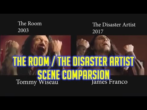 The Disaster Artist And The Room - Scene Comparisons
