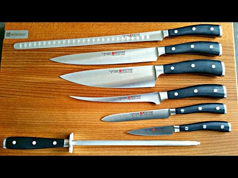 BEST KNIVES SET For PIT MASTERS - Warning  Wusthof Classic Ikon Fanboy😀