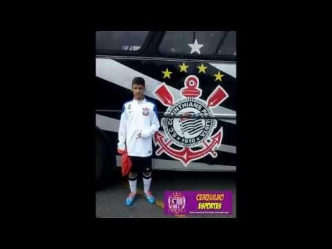 1º gol Carlinhos Beker pelo Corinthians – Corinthians 1 x 1 Flamengo Alegrete – Efipan sub-14 2015
