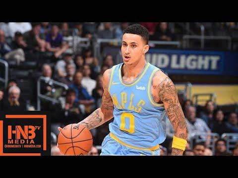 Los Angeles Lakers vs San Antonio Spurs Full Game Highlights / April 4 / 2017-18 NBA Season (видео)