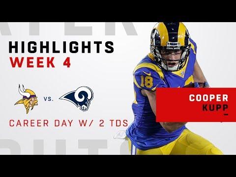 Video: Cooper Kupp's Career Day w/ 162 Receiving Yards & 2 TDs!